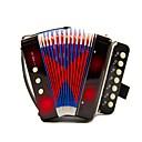זול כפפות דוביט פרחוני-Accordion צעצועי כלי מנגינה כלים מוסיקליים מוזיקה