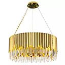 cheap Chandeliers-QIHengZhaoMing 6-Light Pendant Light Ambient Light - Crystal, Bulb Included, Extended, 110-120V / 220-240V Bulb Included / 15-20㎡ / E12 / E14