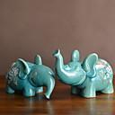 billige Julepynt-2pcs Keramikk Moderne / Nutidig til Hjemmedekorasjon, Gaver Gaver