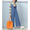 preiswerte Modische Uhren-Damen überdimensional Jeans / Overall Hose Solide