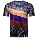 お買い得  スマートウォッチ-男性用 Tシャツ アジアン・エスニック フラワー 幾何学模様