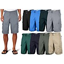 baratos Calças e Shorts para Trilhas-Homens Shorts de Trilha Ao ar livre Suavidade Verão Shorts Exercicio Exterior XL XXL XXXL