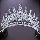 cheap Party Headpieces-Alloy Tiaras with Rhinestone 1pc Wedding / Party / Evening Headpiece