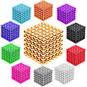 cheap Magnet Toys-216 pcs 3mm Magnet Toy Magnetic Balls Building Blocks Super Strong Rare-Earth Magnets Neodymium Magnet Stress and Anxiety Relief Office Desk Toys DIY Adults' / Children's Unisex Boys' Girls' Toy Gift