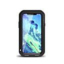 זול מגנים לטלפון & מגני מסך-מגן עבור Apple iPhone X מוגן מים / עפר / הלם כיסוי מלא צבע אחיד קשיח מתכת ל iPhone X
