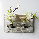 cheap Birthday Home Decorations-Artificial Flowers 0 Branch Simple Style / Pastoral Style Vase Wall Flower / Single Vase