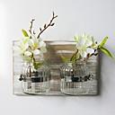 זול פרחים מלאכותיים-פרחים מלאכותיים 0 ענף סגנון מינימליסטי / פסטורלי סגנון אגרטל פרחים לקיר / אחת אגרטל