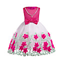 cheap Boys' Clothing Sets-Girl's Daily Going out Solid Colored Block Dress