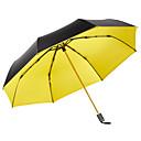 זול מטרייה/מטריית שמש-boy® בד בגדי ריקוד נשים / כל סאני וגשום מטריה מתקפלת