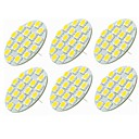 abordables Trenzas-SENCART 6pcs 5W 540lm G4 Luces LED de Doble Pin T 18 Cuentas LED SMD 5730 Decorativa Blanco Cálido / Blanco Fresco 12-24V