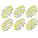 preiswerte Dekorative Kissen-SENCART 6pcs 5W 540lm G4 LED Doppel-Pin Leuchten T 18 LED-Perlen SMD 5730 Dekorativ Warmes Weiß / Kühles Weiß 12-24V