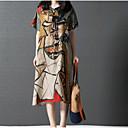 זול מגנים לטלפון & מגני מסך-בגדי ריקוד נשים כותנה מכנסיים - קולור בלוק דפוס תלתן
