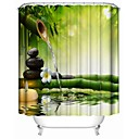 cheap Vessel Sinks-Shower Curtains Contemporary Polyester Novelty Waterproof