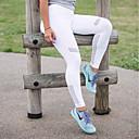 tanie Odzież do fitnessu, biegania i jogi-Damskie Seksowny Spodnie do jogi Sport Solidne kolory Siateczka Rajstopy Bieganie, Fitness, Siłownia Odzież sportowa Szybkie wysychanie, Oddychający Elastyczny