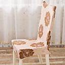 זול כיסויים-עכשווי 100% פוליאסטר ג'אקארד כיסוי לכיסא, פשוט פרחוני הדפס כיסויים
