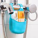 abordables Accessoires pour Salle de Bain-Crochets Multifonction Facile à Utiliser Nouveautés Rangement Amovible Créatif Basique Plastique PVC organisation de bain Autres