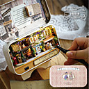 cheap Models & Model Kits-In A Happy Corner 3D Wooden DIY Handmade Box Exquisite Classic Theme Box Classical Pieces Girls' Kid's Gift