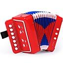 זול כלי צעצוע-Accordion כלים מוסיקליים אומן מוזיקה בנות 1pcs