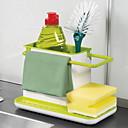 abordables Tarros y cajas-1 juego Cajas de Almacenamiento PP (Polipropileno) Almacenamiento Organización de cocina