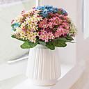billige Kunstig Blomst-Kunstige blomster 1 Gren Stilfull / Pastorale Stilen Brudeslør Bordblomst