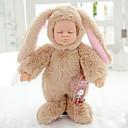 preiswerte Puppen-Lebensechte Puppe Baby Mädchen 10 Zoll Ganzkörper Silikon Silikon Kinder Unisex / Mädchen Spielzeuge Geschenk