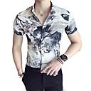 tanie Adidasy męskie-Koszula Męskie Podstawowy Praca Geometric Shape / Krótki rękaw