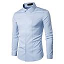 tanie Zestawy ubrań dla chłopców-Koszula Męskie Podstawowy Solidne kolory / Długi rękaw