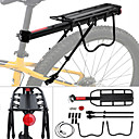 cheap Tools, Cleaners & Lubricants-Bike Cargo Rack Ultra Light Fabric / Easy to Install Aluminum Alloy Cycling / Bike / Mountain Bike / MTB - Black