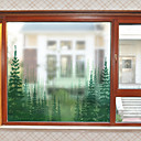 cheap Window Film & Stickers-Window Film & Stickers Decoration Contemporary Simple PVC Window Sticker Matte