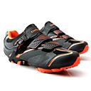 tanie Obuwie rowerowe-Tiebao® Buty na rower górski Włókno węglowe Antypoślizgowy, Zdatny do noszenia, Oddychalność Kolarstwo Czarny / pomarańczowy Męskie / Oddychająca siateczka / Haczyk