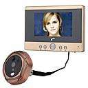 tanie Obrazy olejne-MOUNTAINONE Przewodowy / a Fotografowane / Nagranie 4.5 in Bezdotykowy 480*234*3 Pixel One to One video domofon