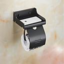 رخيصةأون إضاءة عصرية-حاملة ورق التواليت متعددة الوظائف معاصر الالومنيوم 1PC - حمام N / A(أمريكا الشمالية) مثبت على الحائط