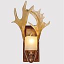 זול Swing אורות Arm-סגנון קטן וינטאג' / קאנטרי מנורות קיר סלון / חדר אוכל / משרד שרף אור קיר 110-120V / 220-240V 40W