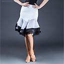 abordables Collares-Baile Latino Pantalones y Faldas Mujer Rendimiento Seda Sintética Combinación Borla Cintura Media Faldas