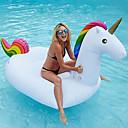billige Oppustelige baderinge, svømmedyr  og pool-loungers-Unicorn Oppustelige badedyr Donut baderinge Udendørs PVC / Vinyl 1pcs Børne Voksne Alle