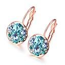 cheap Earrings-Women's Cubic Zirconia Drop Earrings - Fashion Silver / Rose Gold For Wedding Daily