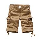 billige Herreringer-Herre Grunnleggende Shorts Bukser Ensfarget