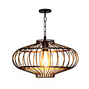 cheap Pendant Lights-Lantern Chandelier Ambient Light Painted Finishes Metal Mini Style 110-120V / 220-240V Bulb Not Included / FCC / E26 / E27