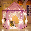 cheap Dolls Accessories-Girl Princess Pink Castle Tents Play Tent & Tunnel Fabrics Kid's Gift 1pcs