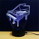 abordables Lámparas de Noche-Luz nocturna 3D Cambiar USB Alivio del estrés y la ansiedad Decoración Seguridad Creativo Color variable DC 5V 3D