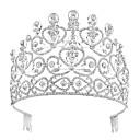 tanie Imprezowe nakrycia głowy-Kryształ / Stop Nakrycie głowy z Kryształ / Rhinestone 1 szt. Ślub / Urodziny Winieta