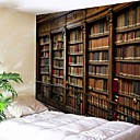 baratos Tapeçarias de parede-Arquitetura Decoração de Parede Poliéster Vintage Arte de Parede, Tapetes de parede Decoração