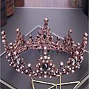 tanie Imprezowe nakrycia głowy-Stop Tiary z Kryształ górski / Kryształki / Sztuczna perła 1 szt. Ślub / Impreza / bal Winieta
