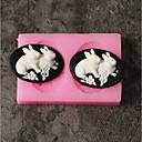 hesapli Kek Kalıpları-Bakeware araçları Silikon Tatil / 3D Karikatür / Yaratıcı Kek / Çikolota / Pişirme Kaplar İçin Pasta Kalıpları 1pc