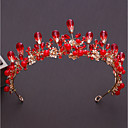 cheap Party Headpieces-Alloy Tiaras with Rhinestone / Crystal 1pc Wedding / Birthday Headpiece