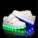 tanie Słuchawki i zestawy słuchawkowe-Dla chłopców / Dla dziewczynek Obuwie PU Lato / Jesień Świecące buty Adidasy LED na Dla dzieci Biały / Czarny