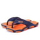 preiswerte Herren Hausschuhe und Flip-Flops-Herrn Schuhe Kunststoff Sommer Komfort Slippers & Flip-Flops Orange / Rot / Grün