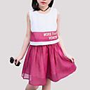 tanie Sukienki dla dziewczynek-Dzieci Dla dziewczynek Patchwork Bez rękawów Sukienka / Śłodkie