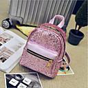 cheap Backpacks-Women's Bags PU(Polyurethane) Backpack Zipper Blushing Pink / Purple / Silver
