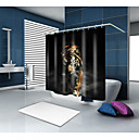 cheap Cell Phone Cases & Screen Protectors-Shower Curtains & Hooks Contemporary Modern Polyester Animal Machine Made Waterproof Bathroom